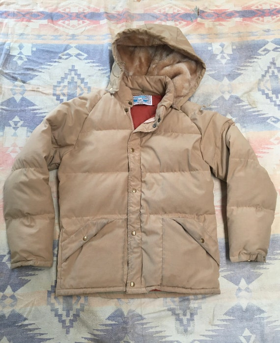 1980s William Barry Struggle Gear Puffer Jacket