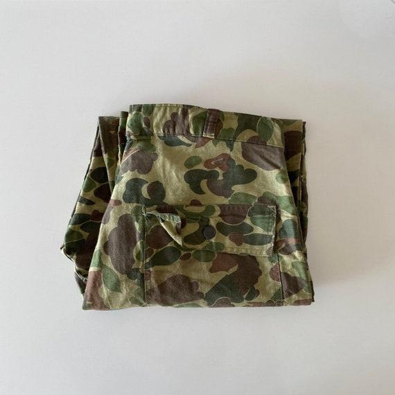 1960s Vietnam War Era Beo Gam Camo Pants