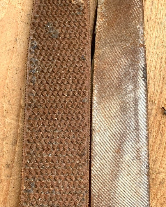 "Made in Australia Vintage WILTSHIRE Rasp//File NOS 8/"" 1//2 Round Smooth Woodwork"