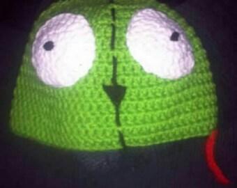 Crochet Gir from Invader Zim Beanie