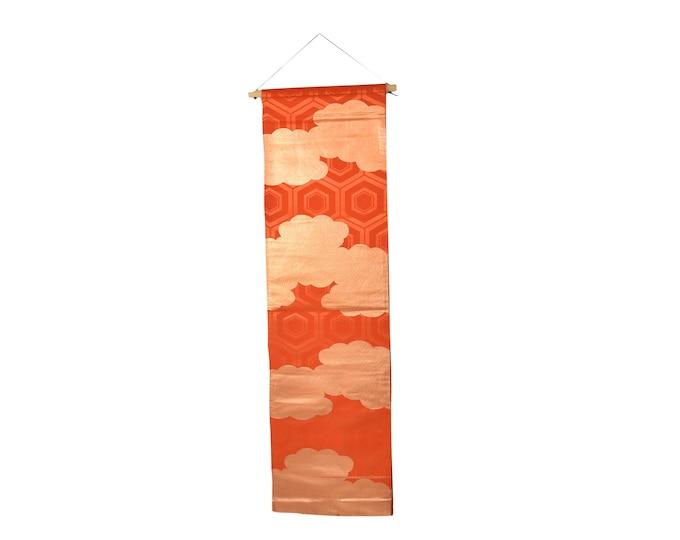 Japanese Obi Belt, Wall decoration, Table Runner, Vintage Kimono Belt silk, Japanese interior decoration, KimonoMädchen