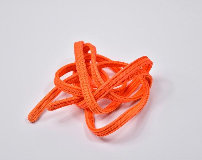 Obijime, Kumihimo Belt Orange, Silk Cord, Silk Belt, Kumihimo Belt, Silk Necklace, Present, Boho Chic, Kimono Madchen