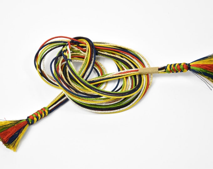 Obijime, Kumihimo , Silk Cord, Silk Belt, Kumihimo Belt, Silk Necklace, Present, Boho Chic, Kimono Maedchen