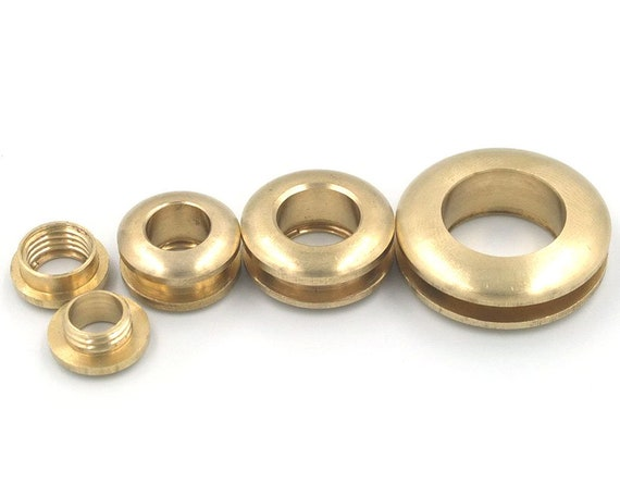 100pcs métal mixte oeillets œillets Boucle Avec Rondelle pour Leathercraft 11 mm