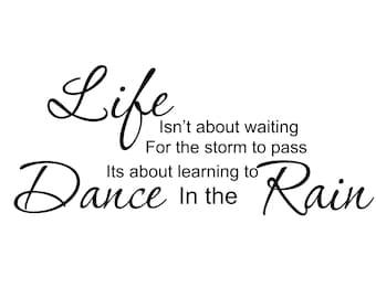 Learn Dance Rain Etsy