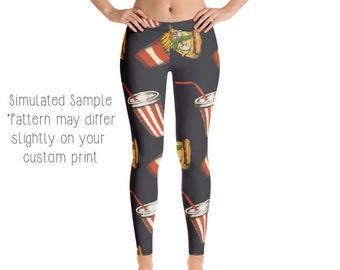 Psychedelic Squirrel Adult Womens Yoga Running Hot Shorts Pants