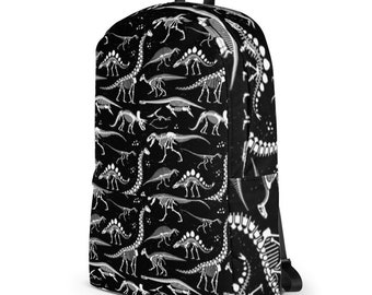 Dinosaur Design Personalised Child/'s School Bag College Laptop Bag add a name