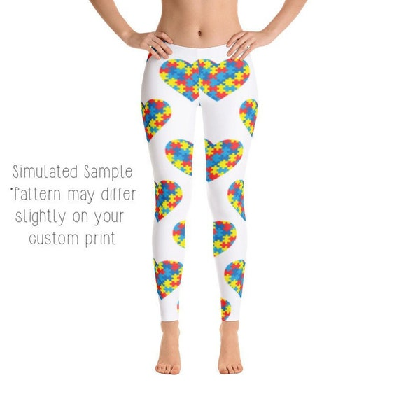 Autism Heart Puzzle Autism Awareness Youth Sweatpants Youth Fleece Pants Boys Athletic Pants Black