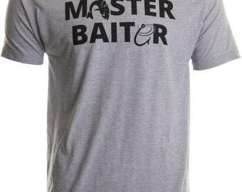 4dda7ea2 Masterbaiter | Funny Fishing Fisherman Fish Master Baiter Dad Grandpa Joke T -shirt
