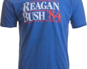 RONALD REAGAN Bush GOP Republican Trump RNC VINTAGE LOOK LONGSLEEVE T-SHIRT