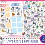 Printable Chore Chart & 72 Cards