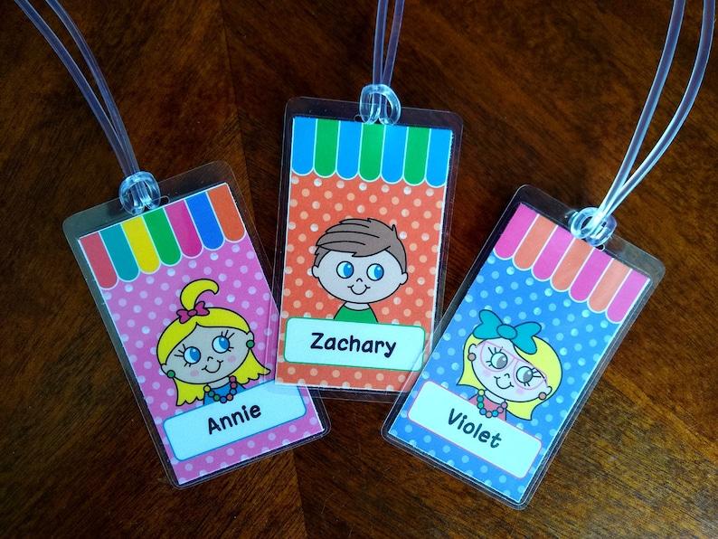 Custom Bag Tag For Kids image 0
