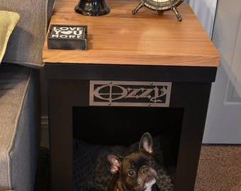 Merveilleux Dog End Table   Custom Metal Made