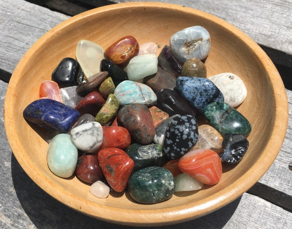 Intuitively Selected Stone • Tumbled • Crystal • Surprise • Intuition • Mineral • Reiki • Natural Healing
