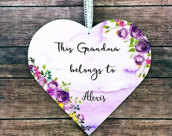 Grandma Christmas Gift Personalized Birthday Ideas From Granddaughter Grandson New