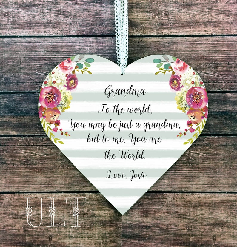 Grandma Gift For Personalized From