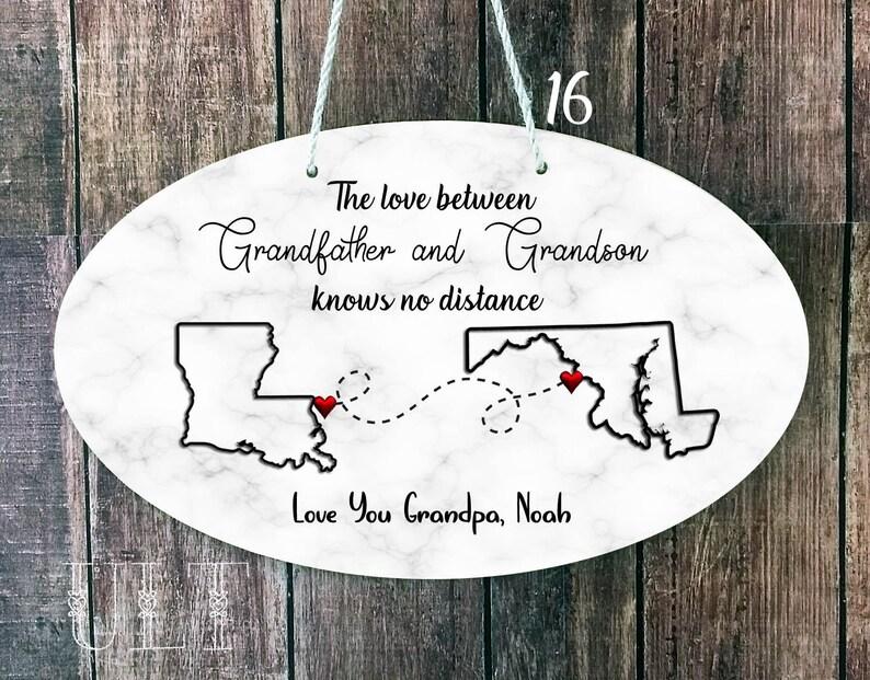 Fathers Day Grandpa Gift Personalized Granddad