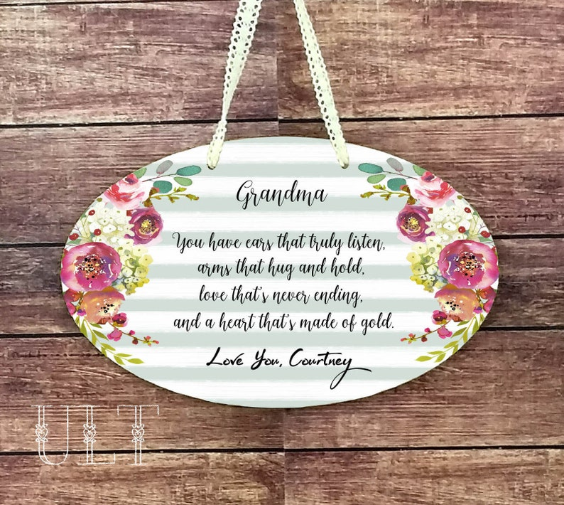 Mothers Day Gift For Grandma Gifts Personalized