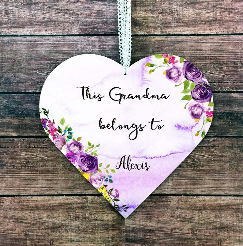 Grandma Christmas Gift Grandma Gift Personalized Grandma