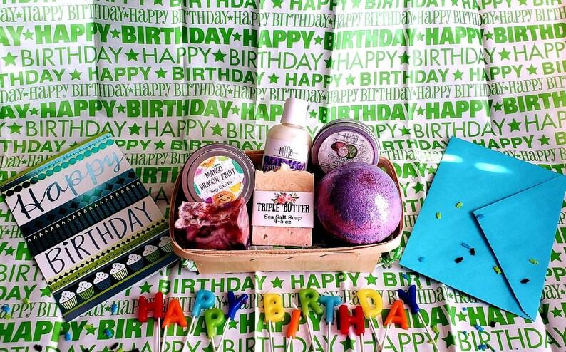 Spa Gift Basket Valentine Set Vegan Build A
