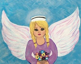 Kate's angel of healing