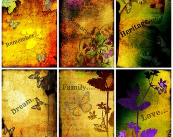 Digital Download Print BRIGHT ALTERED ART Toppers