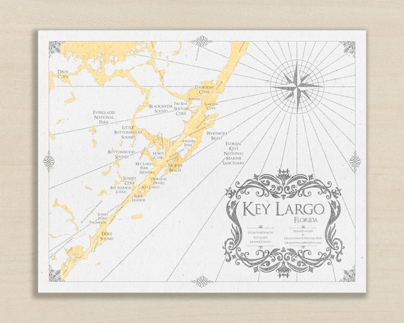 Key Largo Print - Key Largo Map - Key Largo Wall Art - Florida Keys on cape horn on world map, marco island on world map, malaya on world map, manchester england on world map, cabo on world map, marathon on world map, sahara on world map, casablanca on world map, miami on world map, florida keys map, k west florida map, wyoming on world map, malabar on world map, largo fl map, florida on world map, naples on world map, everglades on world map, red river on world map, new york city on world map,