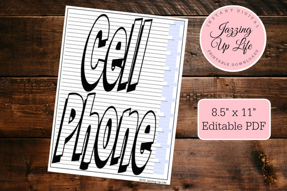cell phone debt or savings tracking chart coloring page dave etsy etsy