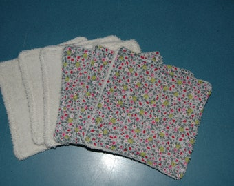 Cleansing wipes, set of 6.