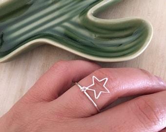 Star Ring-Silver 925