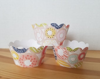 Dessert/Candy Theme Cupcake Wrappers