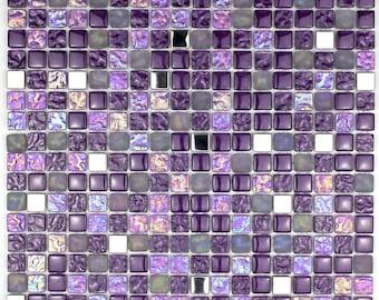 Varilight xfbg 1 Ultraflat brossé Laiton Datagrid Plaque 1 Datagrid espace