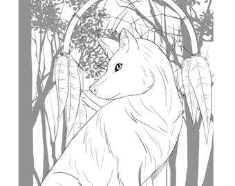 Animal 5 Pack Printable downloadable colouring pages