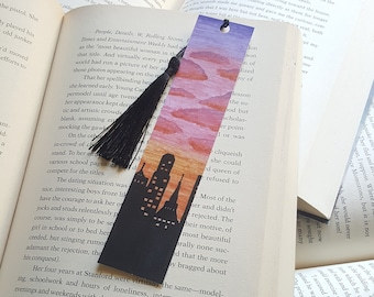 Beautiful Handmade City Bookmark