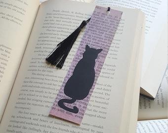 Beautiful Handmade Cat Bookmark