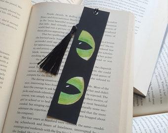 Beautiful Handmade Cat Eyes Bookmark