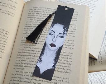 Beautiful Handmade Woman in Black Bookmark