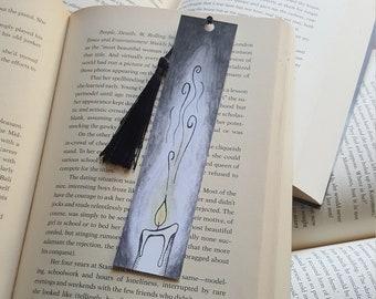 Beautiful Handmade Candle Bookmark