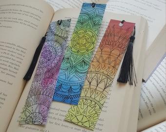Beautiful Handmade Mandala Bookmark