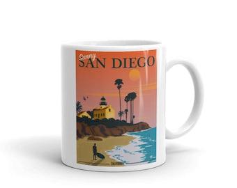 San Diego Mug Etsy