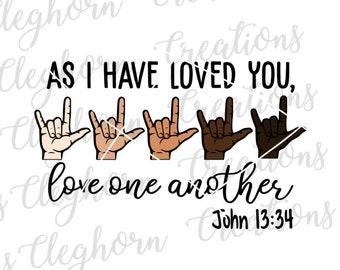 Asl I Love You Svg Etsy