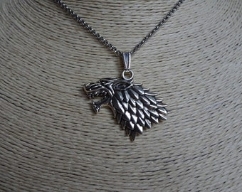 Direwolf Head Pendant, an amazing looking Pendant that would be a stunning gift for any friend.