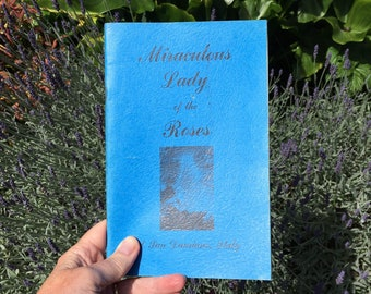 Religious Book, 1970s Miraculous Lady of the Roses at San Damiano Italy