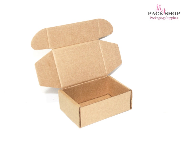 10 Small Jewelry Shipping Boxes Mini Cardboard Gift Box Kraft Boxes Pack Packing Box For Jewelry Kraft Paper Candy Boxes Handmade Soap