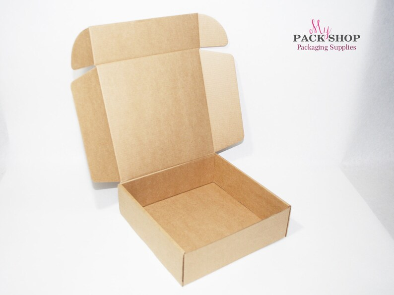 Set Of Cardboard Boxes With Lids Square Box Gift Boxes Medium Size Corrugated Box Packaging Supplies Carton Paper Boxes Party Gift Wrapping