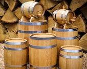 Oak Wooden Barrel for Whiskey, Wine, Cider,Beer