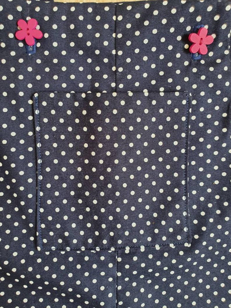 baby girl polka dot dungarees toddler dungarees girls overalls baby girl trousers baby girl gift 6 month baby dungarees baby present