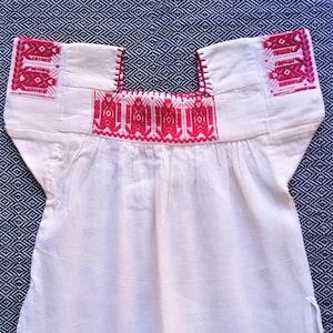 mexican fashion Embroidered mexican top blusa bordada mexicana Otomi design top mexican outfit.