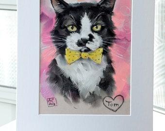 Cat Drawings Etsy