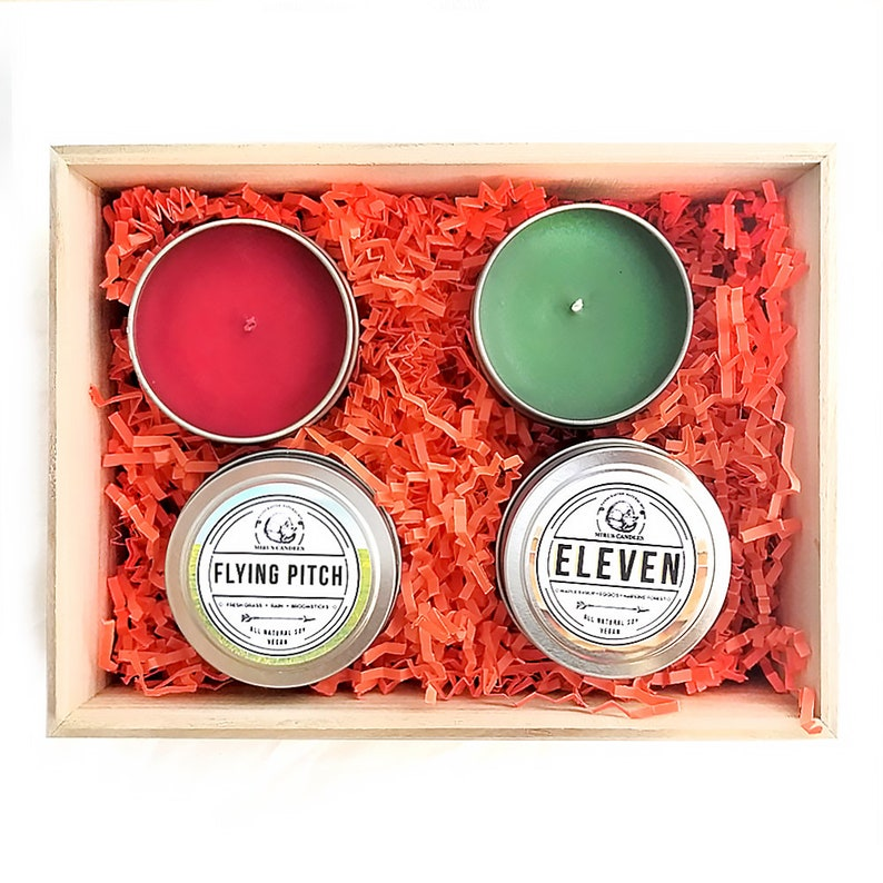 Candle Set Throne of Glass Mix and Match Gift Set 4oz All Natural Vegan Soy Bookish Candles Harry Potter Stranger Things